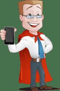 קפטן חיסכון עם טלפון